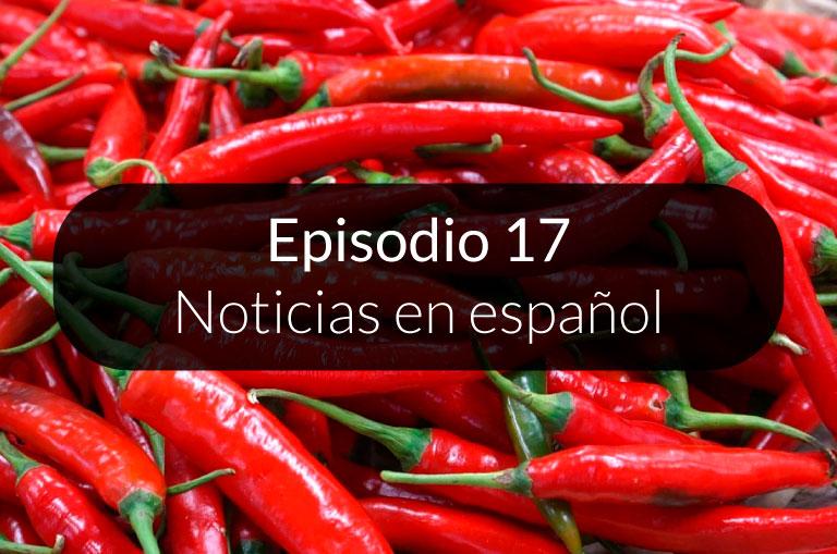 17. Noticias en español