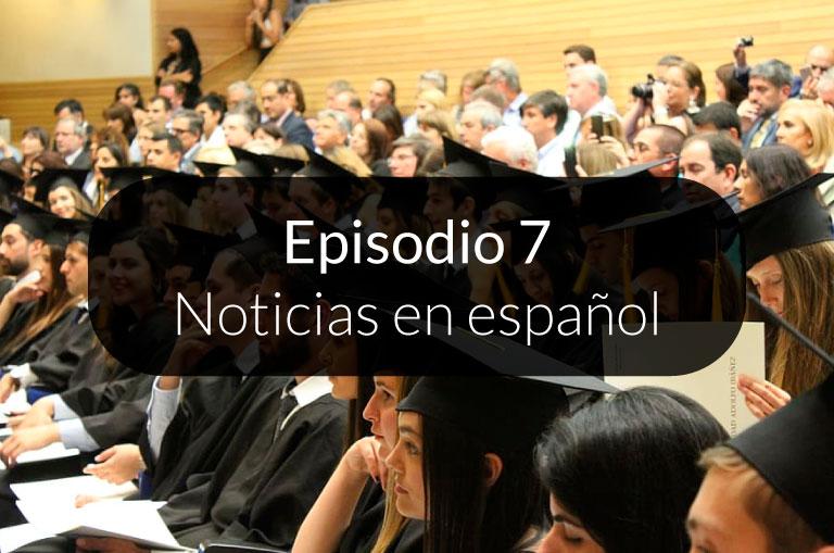 7. Noticias en español