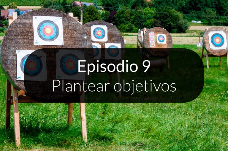 9. Plantear objetivos