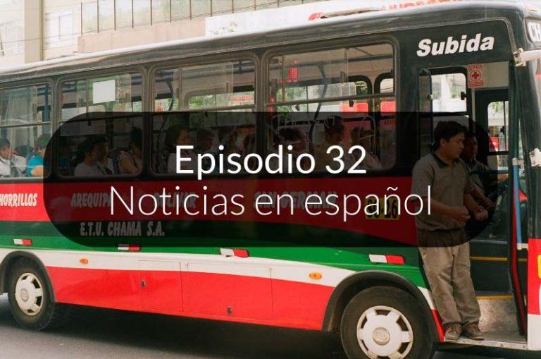 32. Noticias en español