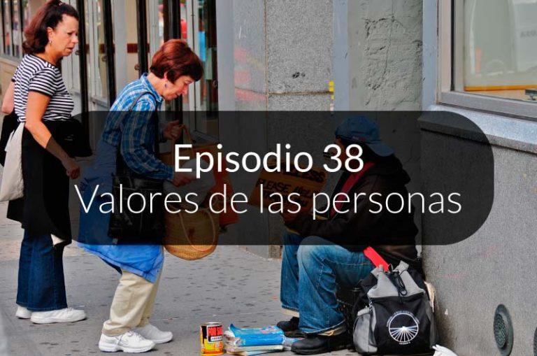 38. Valores de las personas