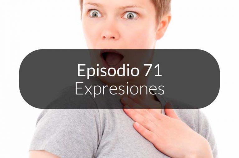 71. Expresiones de saludos y sorpresa