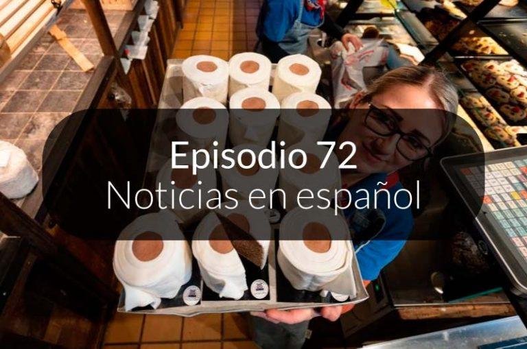 72. Noticias en español
