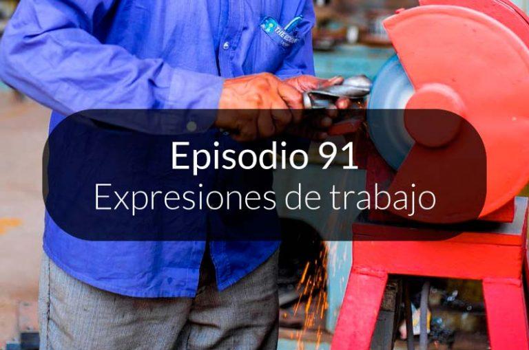 91. Expresiones de trabajo