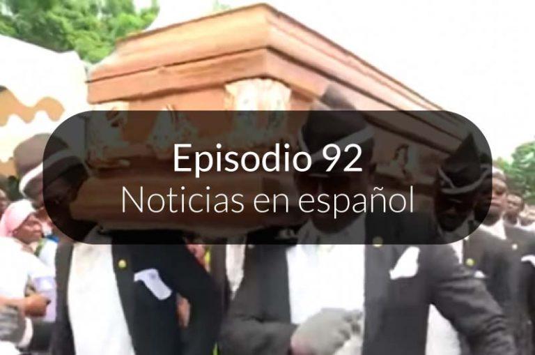 92. Noticias en español