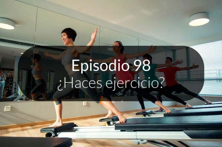 98. ¿Haces ejercicio?