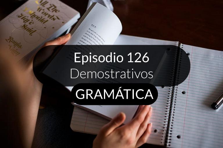 126. Demostrativos