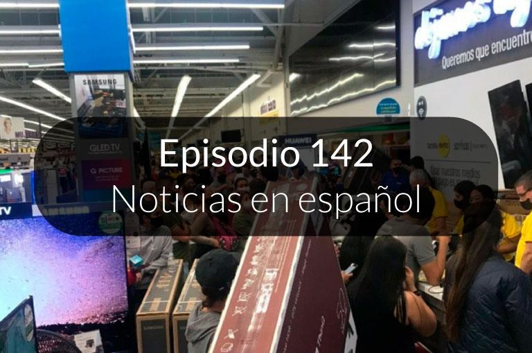 142. Noticias en español