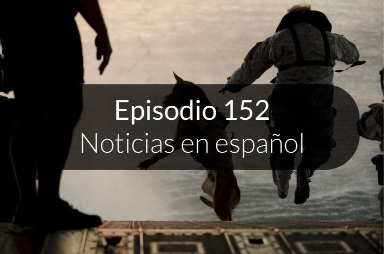 152. Noticias en español