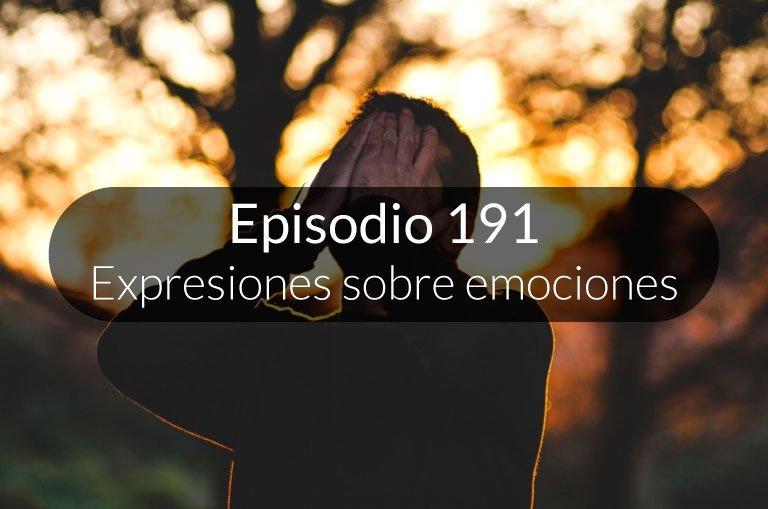 191. Expresiones sobre estados de ánimo
