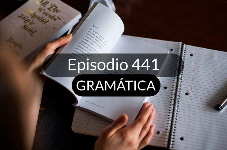 441. El verbo haber